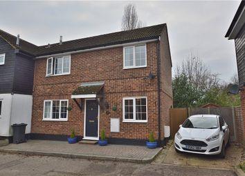 Thumbnail 3 bedroom semi-detached house for sale in Golds Nurseries Business Park, Jenkins Drive, Elsenham, Bishop's Stortford