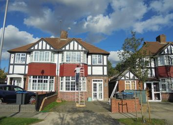 Thumbnail 3 bed semi-detached house to rent in Hollington Crescent, New Malden