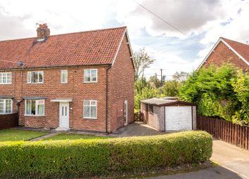 Thumbnail 3 bed semi-detached house for sale in Laburnum Grove, Stillingfleet, York, North Yorkshire
