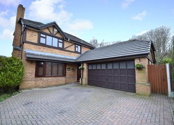 Thumbnail 4 bedroom detached house for sale in The Heys, Prestwich, Manchester