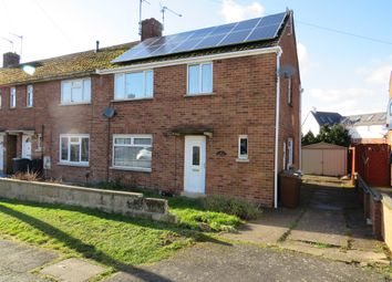 Thumbnail 3 bedroom end terrace house for sale in Balmoral Avenue, Rushden