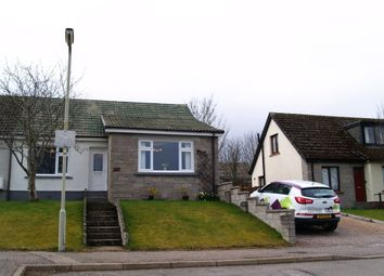 Thumbnail 2 bed semi-detached bungalow for sale in Ordview Lane, Nairn