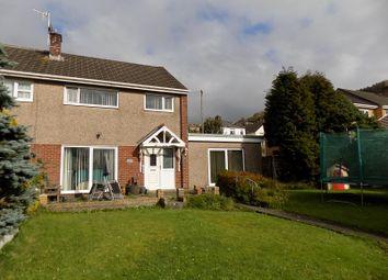 Thumbnail 3 bed semi-detached house for sale in Bramblewood Close, Baglan, Port Talbot, Neath Port Talbot.