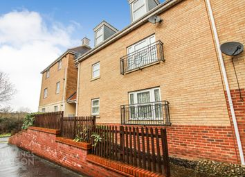 Thumbnail 2 bed flat for sale in Mawkin Close, Three Score, Norwich