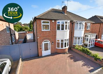 Thumbnail 3 bed semi-detached house for sale in Cairnsford Road, West Knighton, Leicester