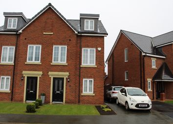 Thumbnail 3 bed town house for sale in Sandfield Crescent, Whiston, Prescot