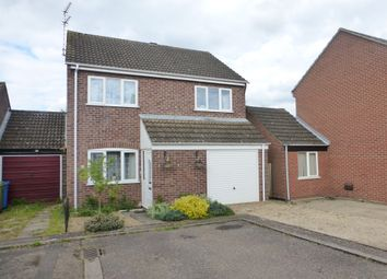 Thumbnail 3 bed detached house for sale in Howlett Drive, Norwich