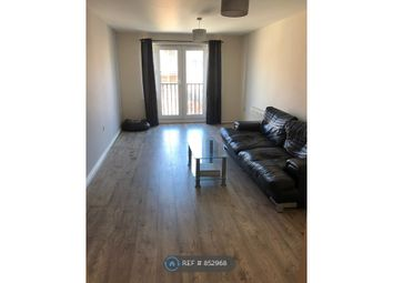 Thumbnail 2 bed flat to rent in Dunster Close, Rugby