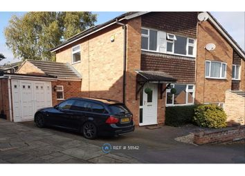 Thumbnail 3 bed semi-detached house to rent in Althorpe Drive, Loughborough