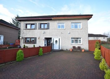 Thumbnail 3 bed semi-detached house for sale in Freeland Crescent, Priesthill, Glasgow