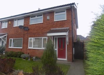 Thumbnail 3 bedroom semi-detached house to rent in Palliser Close, Birchwood, Warrington