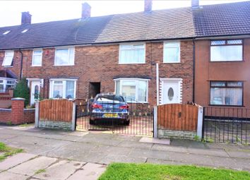 Thumbnail 3 bed terraced house for sale in East Dam Wood Road, Liverpool