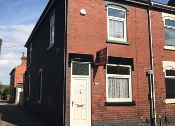 Thumbnail 3 bed end terrace house to rent in Coronation Road, Hartshill, Stoke-On-Trent