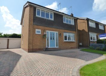 Thumbnail 4 bedroom detached house for sale in Canada Drive, Cherry Burton, Beverley
