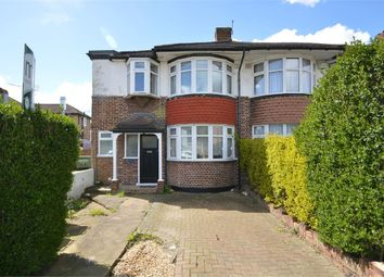 Thumbnail 3 bed semi-detached house to rent in Rydens Grove, Hersham, Walton-On-Thames, Surrey