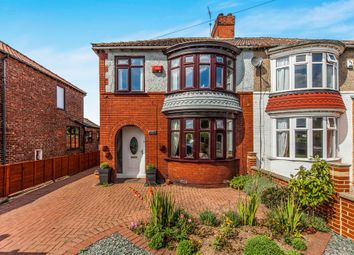 Thumbnail 3 bedroom semi-detached house for sale in Normanby Road, Ormesby, Middlesbrough