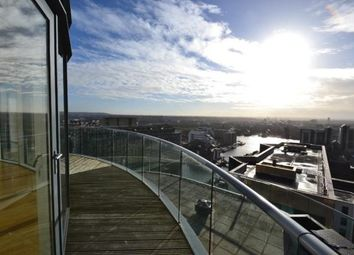 Thumbnail 2 bed flat to rent in Penthouse, Ability Place, Canary Wharf