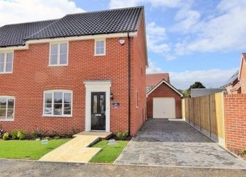 Thumbnail 3 bed end terrace house to rent in Daisy Drive, Leiston
