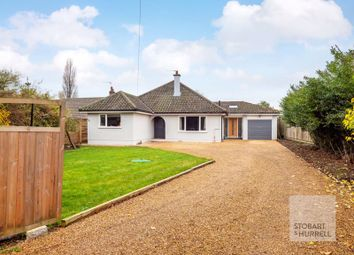 Thumbnail 4 bed detached bungalow for sale in Fawn Haven, Main Road, Rollesby, Great Yarmouth, Norfolk