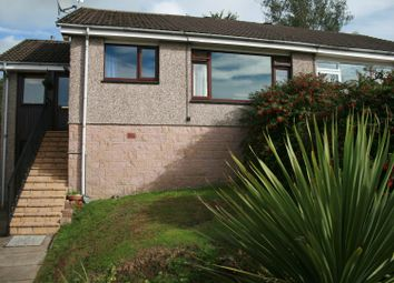 Thumbnail 3 bed semi-detached bungalow for sale in Ladhope Drive, Galashiels
