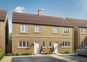 "Thumbnail 3 bedroom semi-detached house for sale in ""The Chester"" at Mentmore Road, Cheddington, Leighton Buzzard"