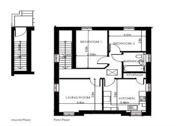 Thumbnail 2 bedroom flat for sale in Charles King Court, Shrewsbury Road, Shifnal, Shropshire