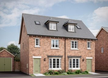 "Thumbnail 3 bedroom semi-detached house for sale in ""The Chisley"" at Tay Road, New Lubbesthorpe"