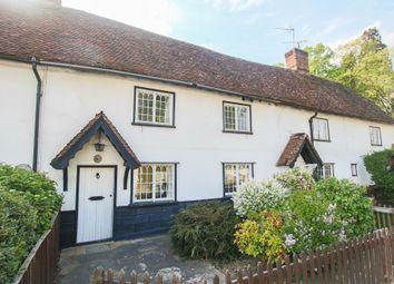 Thumbnail 2 bed cottage for sale in Waterbutt Row, Cambridge Road, Quendon, Saffron Walden