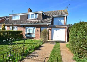 Thumbnail 4 bedroom semi-detached house for sale in Grafton Close, King's Lynn