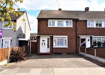 Thumbnail 2 bed end terrace house for sale in Briar Road, Romford