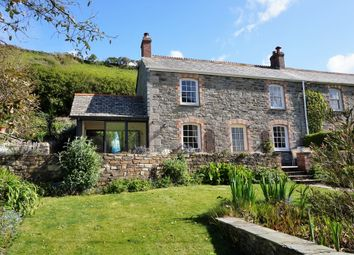 Thumbnail 3 bedroom cottage for sale in West Portholland, Truro