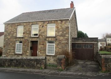 Thumbnail 3 bed detached house for sale in Brecon Road, Ystradgynlais, Swansea.