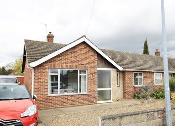 Thumbnail 3 bedroom semi-detached bungalow to rent in Mountfield Avenue, Hellesdon, Norwich