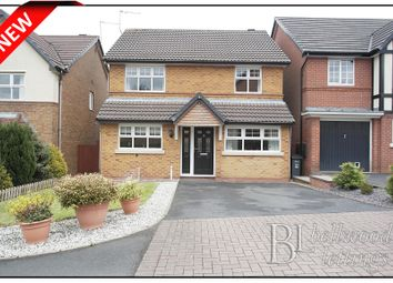 Thumbnail 4 bedroom detached house to rent in Princetown Close, Meir Park Stoke On Trent