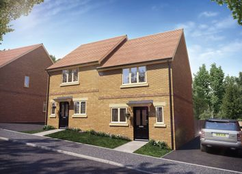 Thumbnail 2 bed semi-detached house for sale in Meadow Way, Wing, Leighton Buzzard