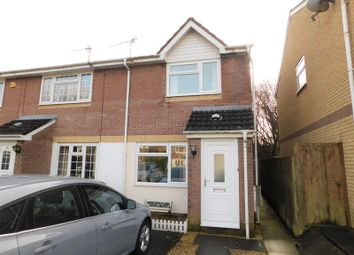 Thumbnail 2 bedroom terraced house to rent in Heol Y Carnau, Caerphilly