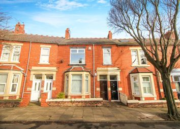 Thumbnail 3 bed flat for sale in Park Crescent East, North Shields