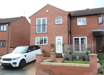 Thumbnail 4 bed semi-detached house for sale in Nursery Gardens, Stairfoot, Barnsley