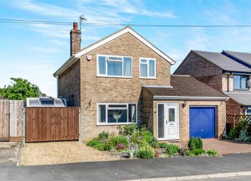 Thumbnail 3 bed detached house for sale in Berwick Road, Stanion, Kettering