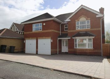 Thumbnail 4 bed detached house to rent in Davenport Way, Newcastle-Under-Lyme