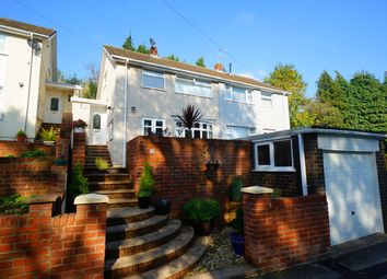 Thumbnail 3 bed semi-detached house for sale in Rosemont Avenue, Risca, Newport