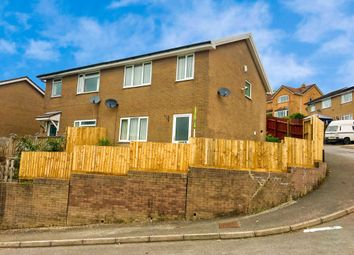 Thumbnail 3 bed property to rent in St Annes Gardens, Abertridwr, Caerphilly