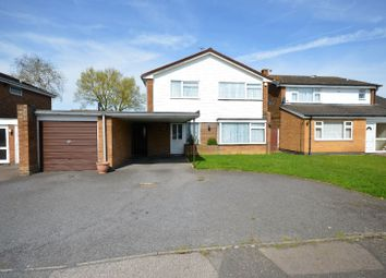 Thumbnail 4 bed detached house for sale in Ribble Avenue, Oadby, Leicester