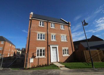 Thumbnail 4 bed end terrace house for sale in Dyson Road, Redhouse, Swindon