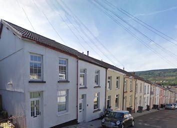 Thumbnail 3 bed terraced house to rent in Saxon Street, Merthyr Tydfil