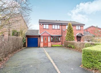 Thumbnail 3 bed semi-detached house for sale in Kilngate, Lostock Hall, Preston