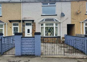 Thumbnail 3 bed terraced house for sale in Brynbach Street, Tredegar
