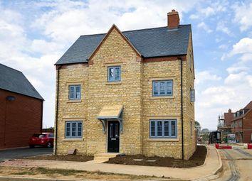 "Thumbnail 4 bedroom detached house for sale in ""Hexley"" at Halse Road, Brackley"