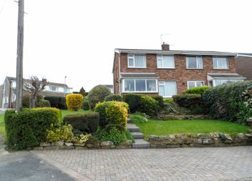 Thumbnail 3 bed semi-detached house for sale in Woodleigh Crescent, Ackworth, Pontefract