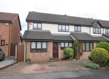 Thumbnail 3 bed end terrace house for sale in Exmoor Close, Ilford